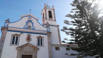 facciata di una chiesa a Setúbal