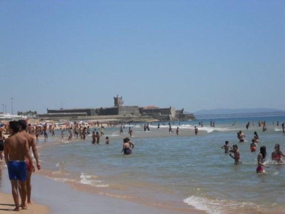 Fortino della spiaggia di Carcavelos