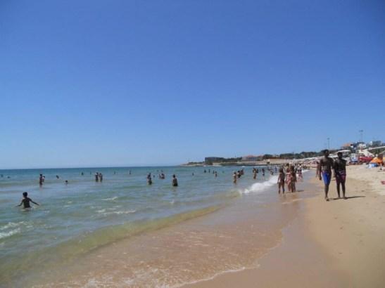 Dorata spiaggia di Carcavelos