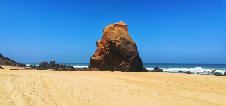 Spiaggia dorata di Santa Cruz