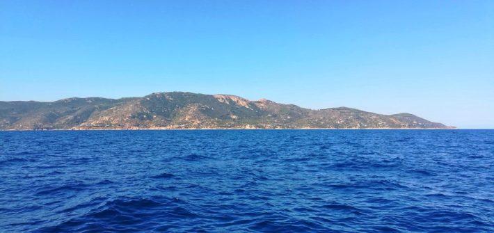 Andare in Barca all'siola del giglio