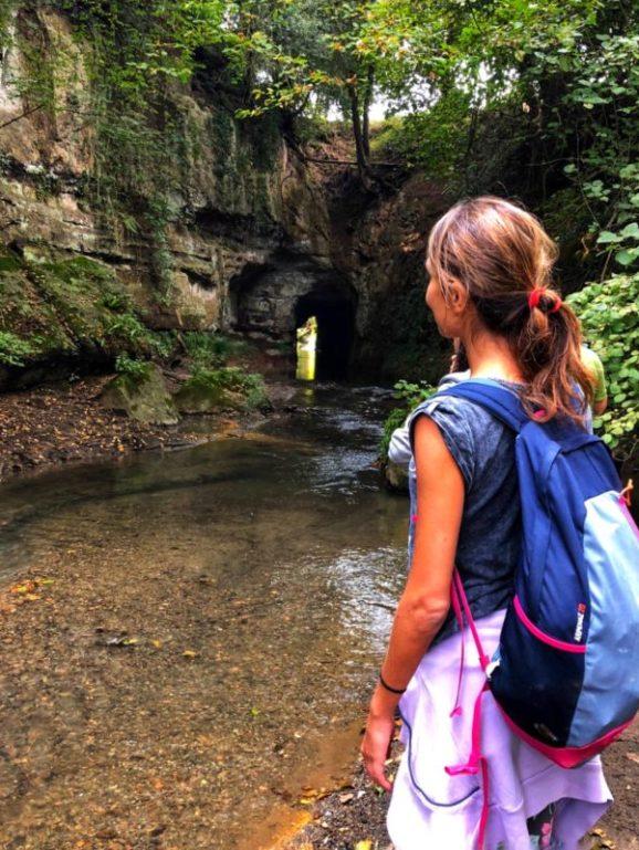 camminare respirare in mezzo alla natura