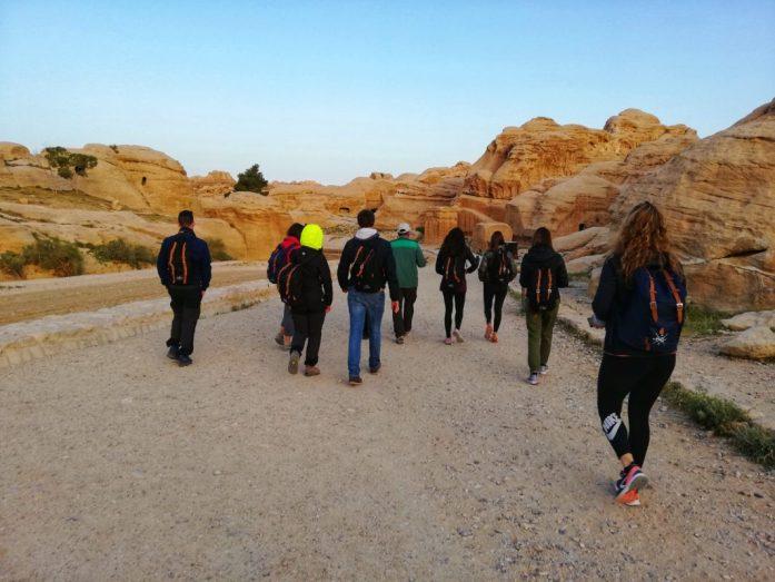 gruppo e coordinatore di viaggio