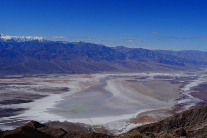punti panoramici più belli death valley