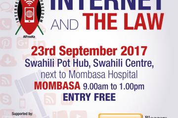 Internet and the law workshop by BAKE