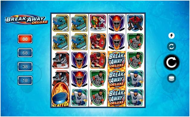 Break Away Deluxe slot by Microgaming