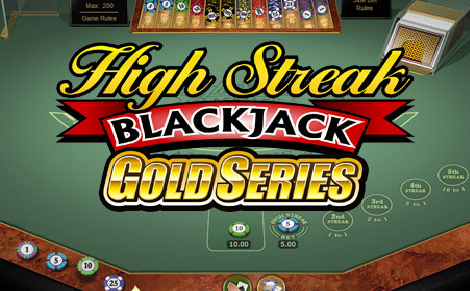 High Streak-Blackjack- Gold