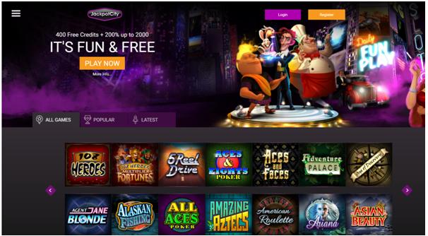 Jackpot City Fun Casino To Play Free Pokies