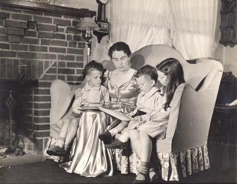 Esther Stone with Children