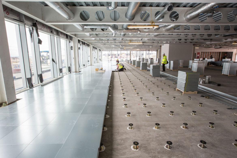 Raised Access Flooring  IFT