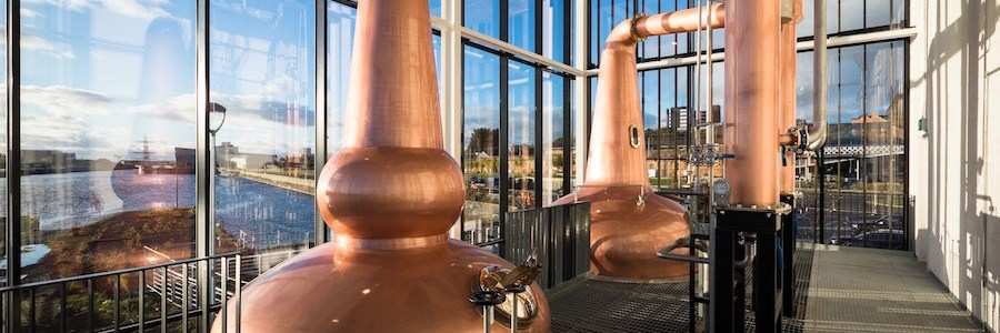 IFT work on new whisky distillery on the River Clyde