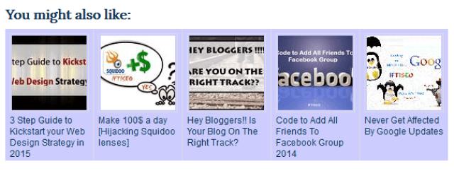 Interlinking blog posts