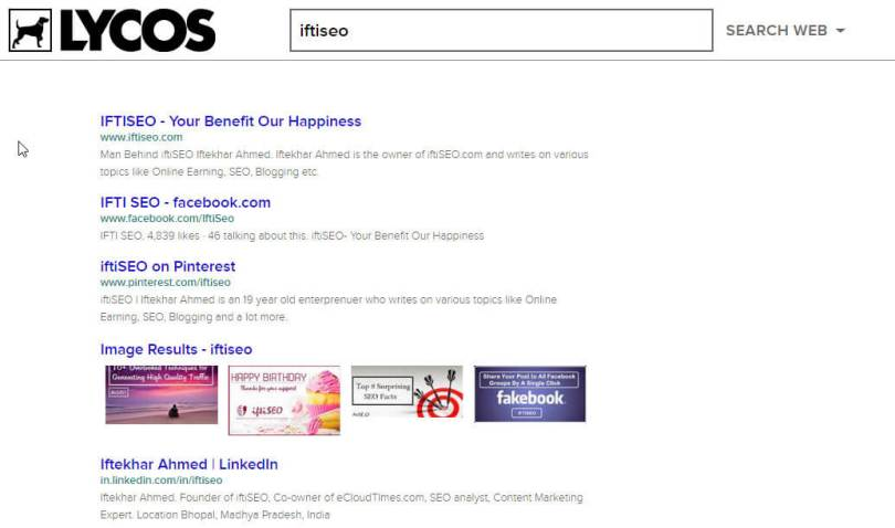 lycos search engine