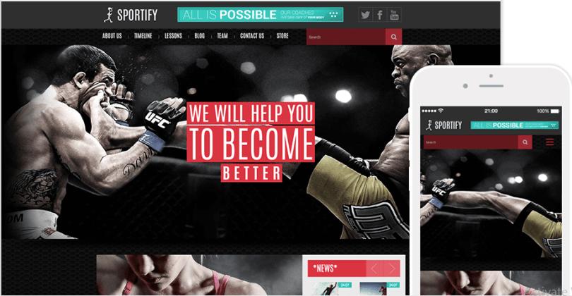 Sportify Theme