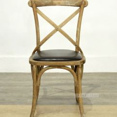 Black Cross Back Chairs Nz Ikea Poang Chair Cushion Oak Dining Pu Picture Of