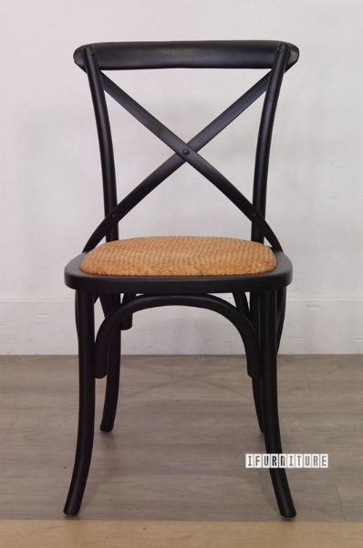black cross back chairs nz office chair backrest cushion in color solid birch picture of
