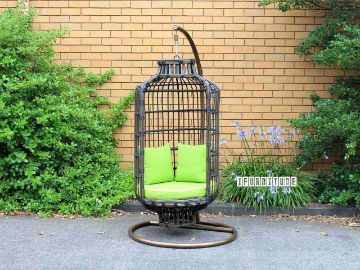 cane hanging chair new zealand mesh folding chairs picture of aviary rattan