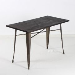 Tulip Table And Chairs Nz Desk Chair Offerup Tolix Replica Tables *gun Metal Color Leg