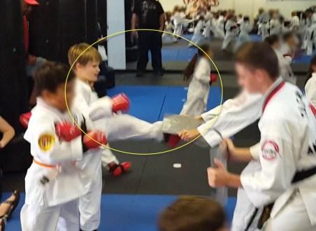 Rainbow 20 secs Taekwondo1