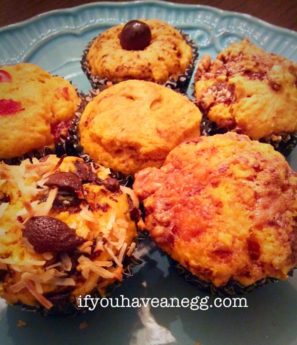 Assorted Pumpkin Muffins, only 2 or 3 Points Plus Each!