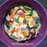 Very Veggie Egg Mug – 3 Weight Watchers Smart Points (3PPV)