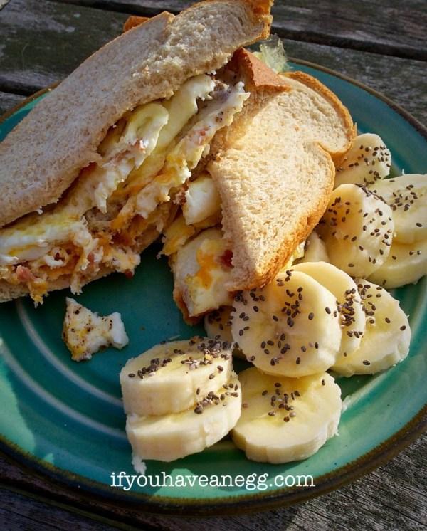 Secret Recipe Fried Egg Sandwich