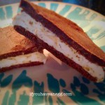 Chocolate Espresso Frozen Whoopie Pie – 5 Weight Watchers Smart Points (or 1/2 for 3SP)