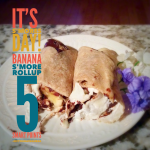 Banana S'more Rollup:  5 Smart Points / 3 Points Plus