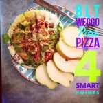 BLT Weggo Pita Pizza: 4 Weight Watchers Smart Points