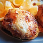 "Air Fryer ""That Man's Chicken"" Thighs: 4 – 5 Smart Points"