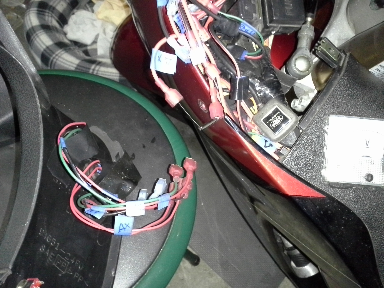 The Ignition Wiring Was Pretty Easy Although I Did Have To Relocate