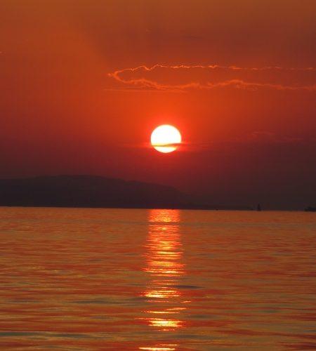 Sunset 2 450x500 - Bericht Lädine fahren im Juli 2015