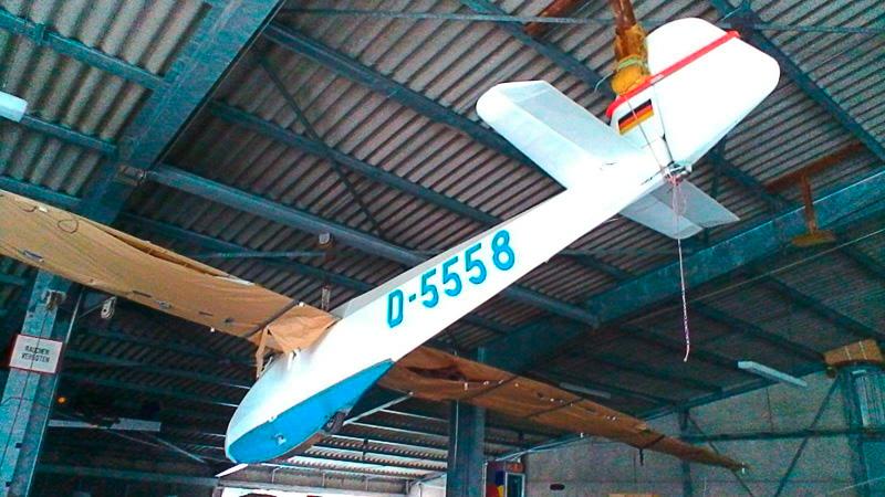 L Spatz D5558 - Flugzeuge