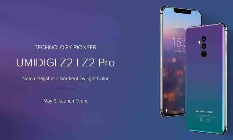 UMIDIGI Z2 Pro & Z2 Announced: Will Be Launched On May 9 - 4