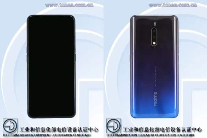 Realme X - A New flagship Phone with Pop-up Camera Leaked - 1
