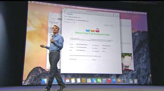 Mac OS X 10.10 Yosemite Unveiled by Apple at WWDC - 1