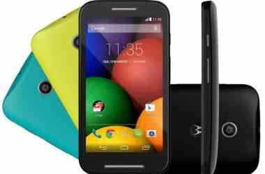 Moto E gets a good price cut, now available for Rs. 5,999 only - 4