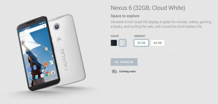 nexus 6 32gb india