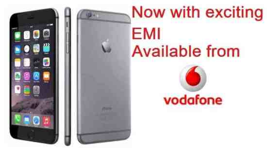 Vodafone now offering iPhones in EMIs, including iPhone 6 and iPhone 6 Plus - 1