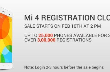 Xiaomi Mi4 64GB priced at RS. 23,999| First sale from Feb 24th onwards - 3