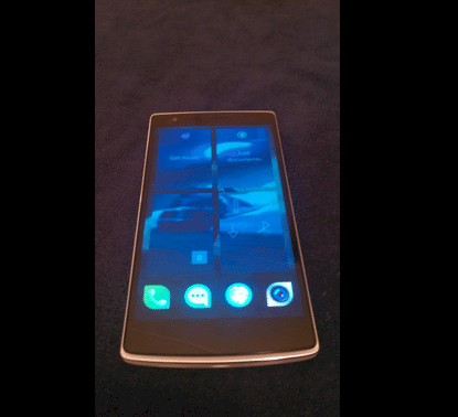 OnePlus One spotted to be running on Jolla's Sailfish OS - 1