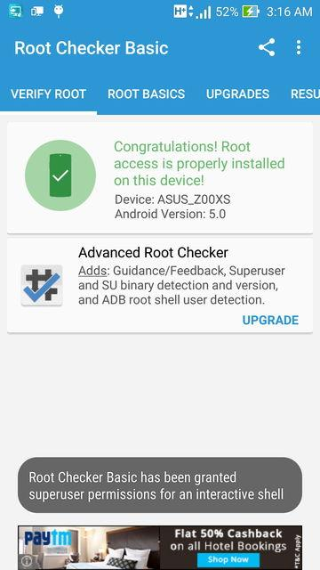 Zenfone Zoom-Root Granted
