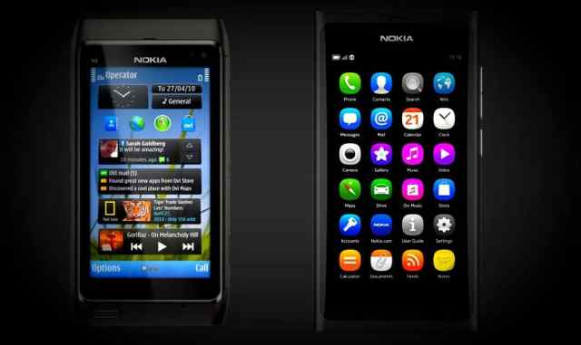 Rise & Fall of Nokia - Reasons -1 - Nokia N9 running on Symbain
