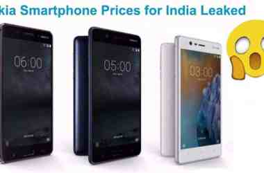 Nokia Smartphones Price Leaked: Starts from Rs. 9,990 - 8