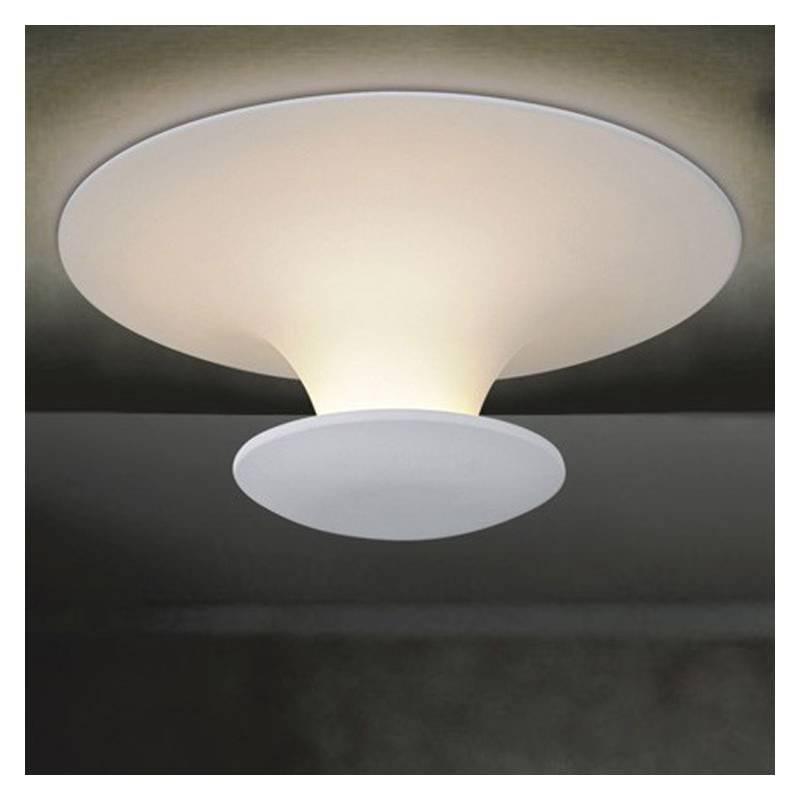 Plafn de techo Mush lacado blanco  Lighting Zone