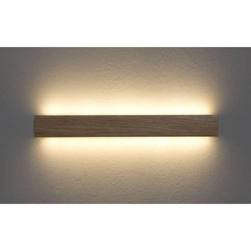 Aplique de pared Manolo LED 15w madera  Ole