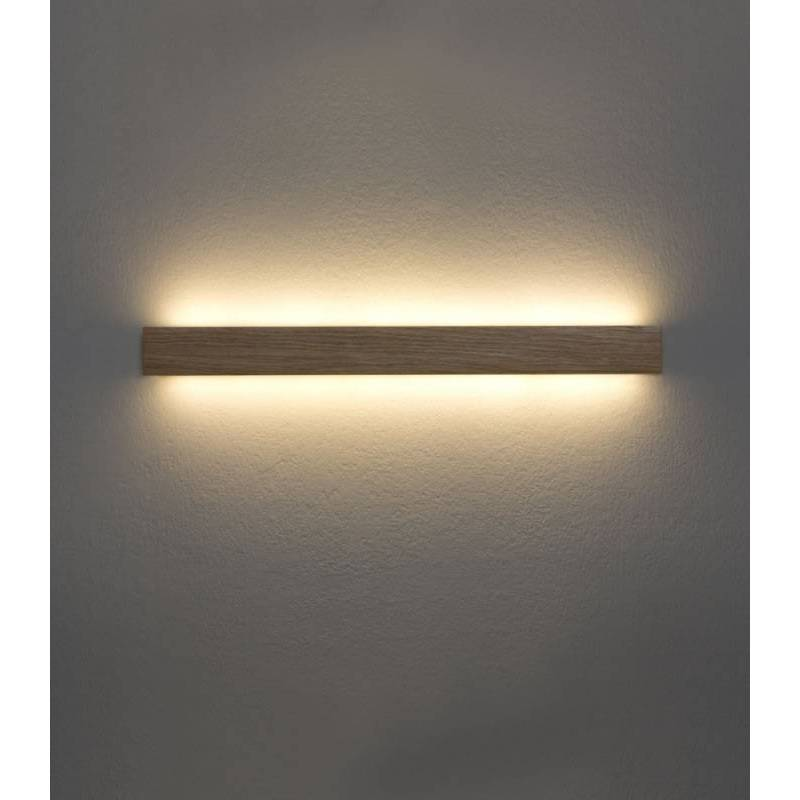Aplique de pared Manolo LED 15w madera  Ole