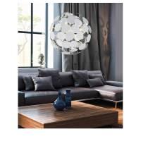 TRIO Discalgo pendant lamp 6L white