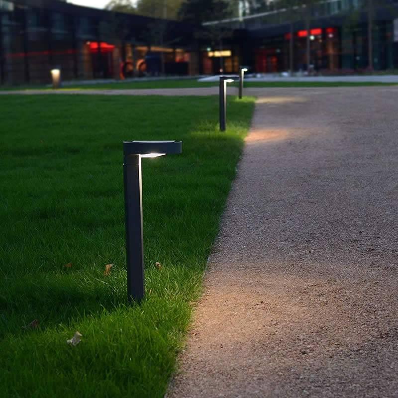 Baliza Diso Solar LED 2w IP44 antracita - Lutec
