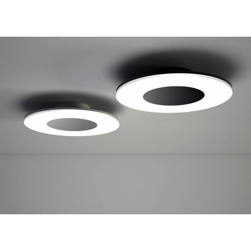 Plafn de techo Discobolo LED 28w negro  Mantra